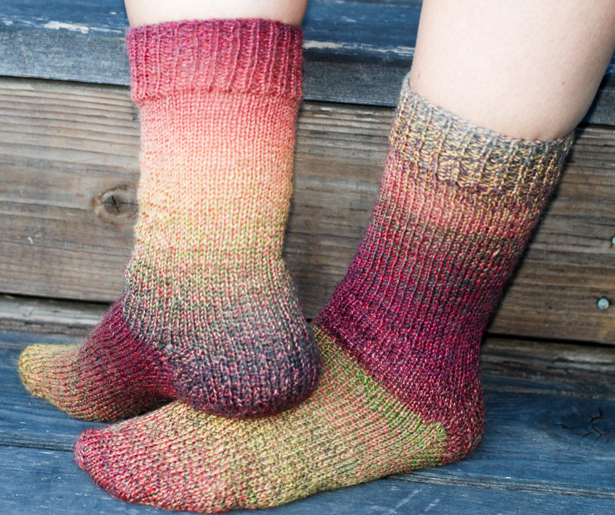 Picking Up Stitches In Knitting Socks : The Camping Socks - This Knitted Life