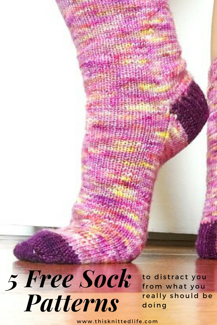 Socks archives this knitted life five more free sock patterns to distract you from what you really should be doing bankloansurffo Gallery